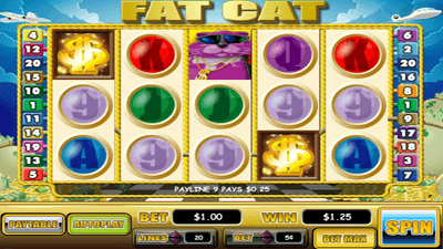 Fat Cat slot by WGS