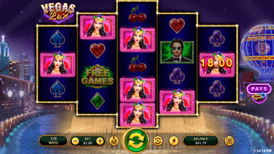 Vegas Lux slot winning screenshot